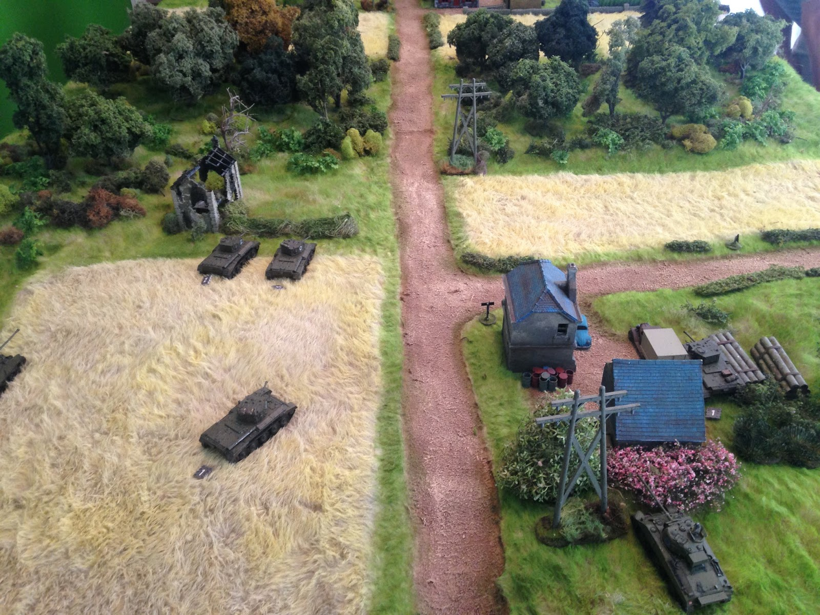 Miniature Wargaming with Spudnick: AAR: Tanks! Testing Out