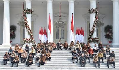 Kabinet Indonesia Maju periode 2019-2024 www.guntara.com