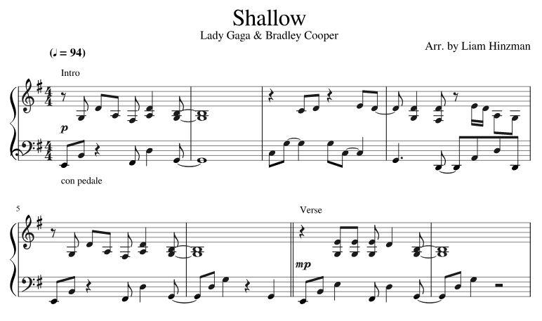 Top 10 Punto Medio Noticias | Shallow Piano Sheet Music Free Pdf