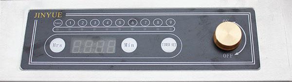 Bảng điện tử của bếp từ công nghiệp đơn mặt phẳng BTDP3K