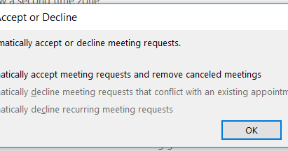 Taming Outlook meeting requests (part 1)