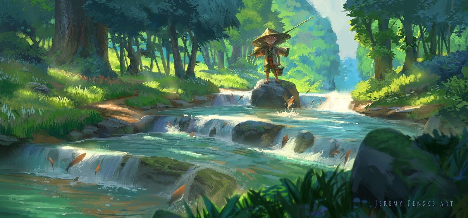 Breath Of The Wild Screensaver: Jeremy Fenske Art