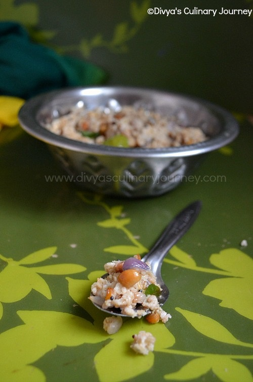 Easy recipe for Oat upma