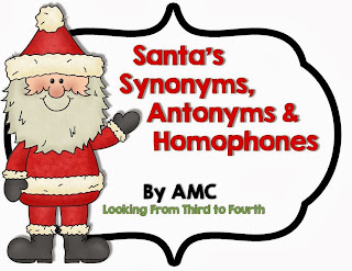 http://www.teacherspayteachers.com/Product/Santas-Synonyms-Antonyms-and-Homophones-999958