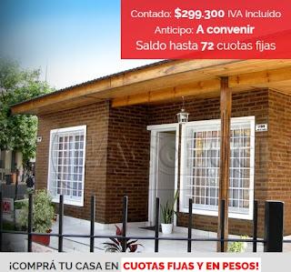 Viviendas La Solucion precios 2018 Modelo Familiar Clasico