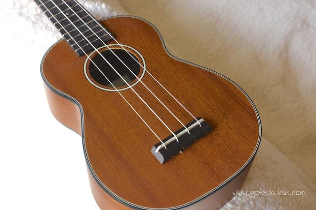 Ohana SK-14 soprano ukulele top