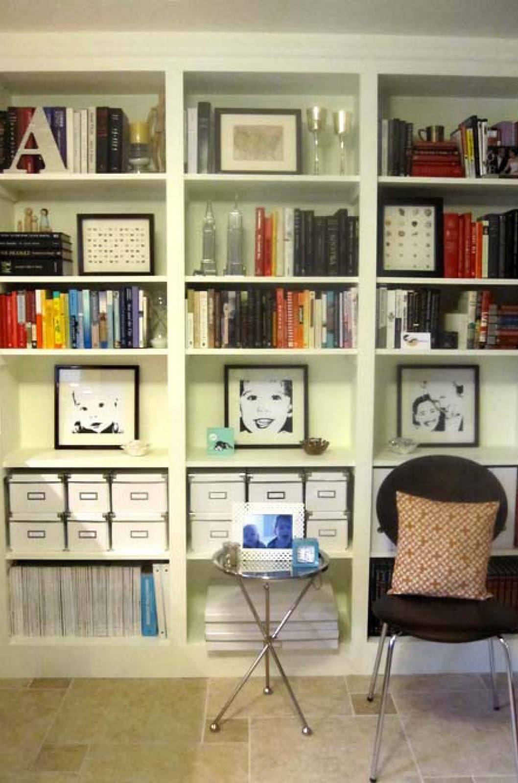 shelves bookshelf bookshelves books bookcase office inspiration storage shelf different bookcases humble feature friday pretty broke perfectly containers organized them