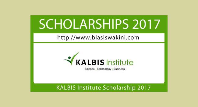 Kalbis Institute Scholarship 2017