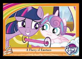 MLP A Flurry of Emotions Series 5 Trading Card