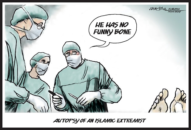 Autopsy of an Islamic extremist cartoon