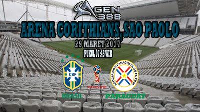 JUDI BOLA DAN CASINO ONLINE - PREDIKSI PERTANDINGAN KUALIFIKASI PIALA DUNIA 2018 BRASIL VS PARAGUAY 29 MARET 2017