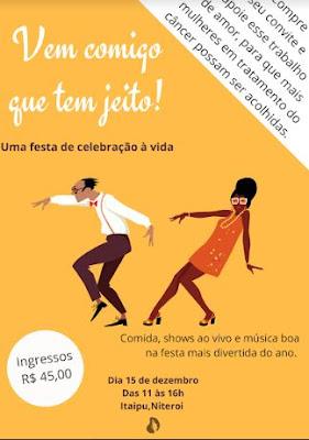 ONG Projeto Pérolas promove festa beneficente