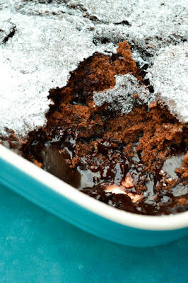 Dark Chocolate Magic Pudding
