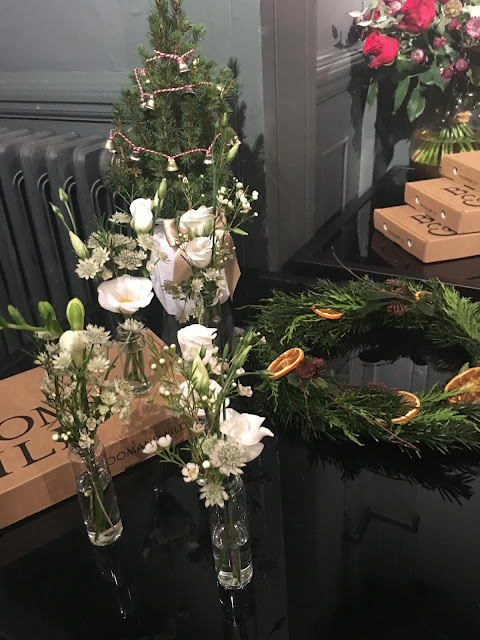 christmas flowers from bloom&wild