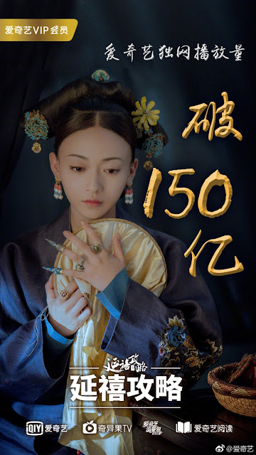 Story of Yanxi Palace 15 billion views