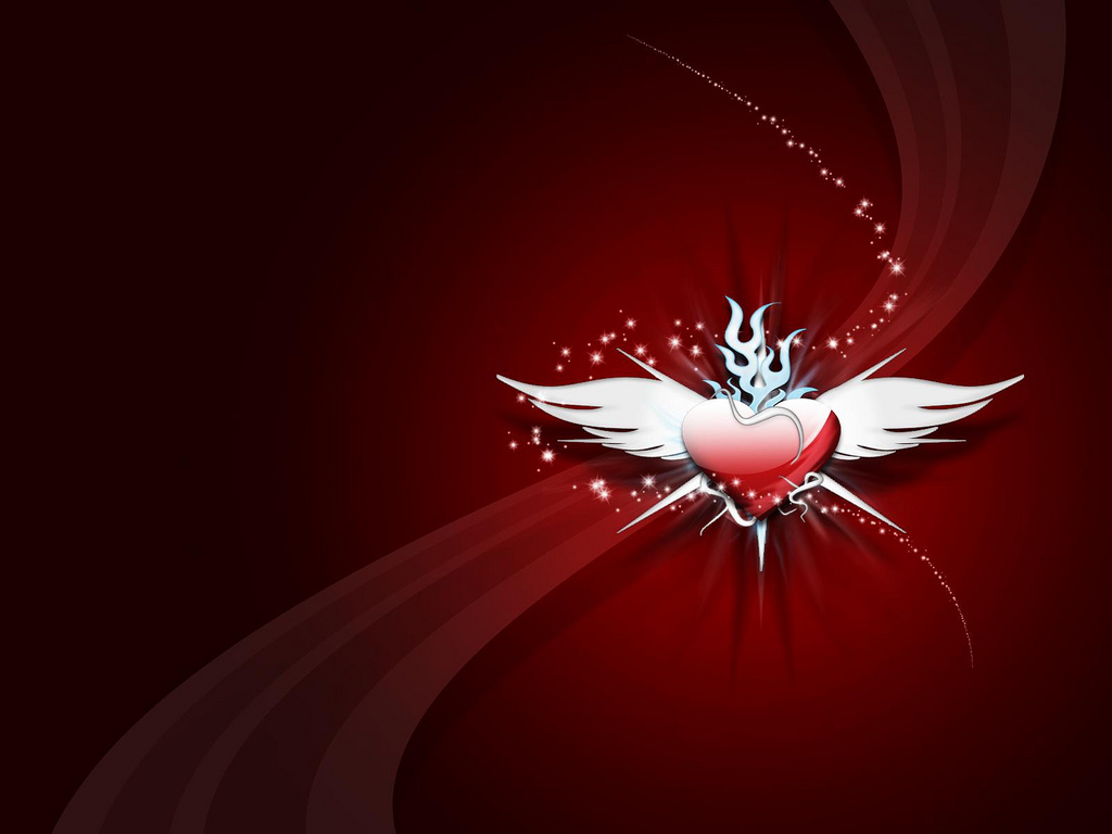 Ppt bird i saw i learned i share 10 cute - Valentines day background wallpaper ...