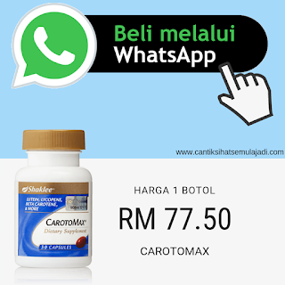 Beli Carotomax Shaklee Whatsap online