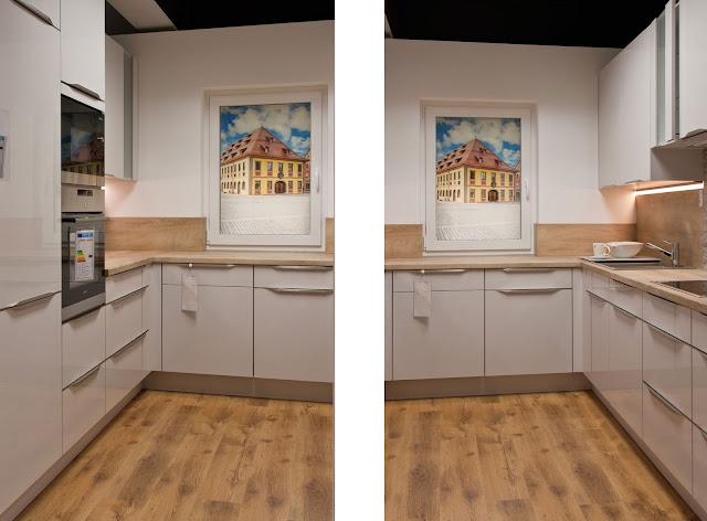 Küche auf 8 qm, Beispiel 1