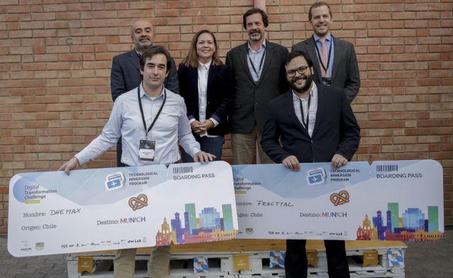 """Ganadores del programa """"Digital Transformation Challenge"""""""