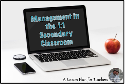 "Classroom management tips and ideas for the 1:1 digital middle or high school secondary classroom that will save you time and headache! ""Top Down"" is one I will start using now!"