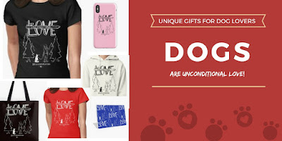 Products for dog lovers, Gifts, Sweatshirts, t-shirts, tote bags, cell phone cases & more