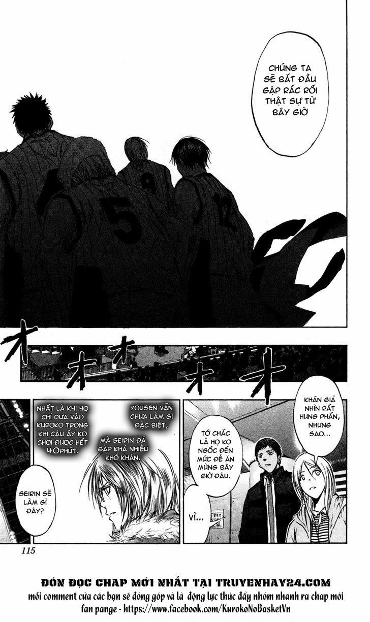 Kuroko No Basket chap 150 trang 9