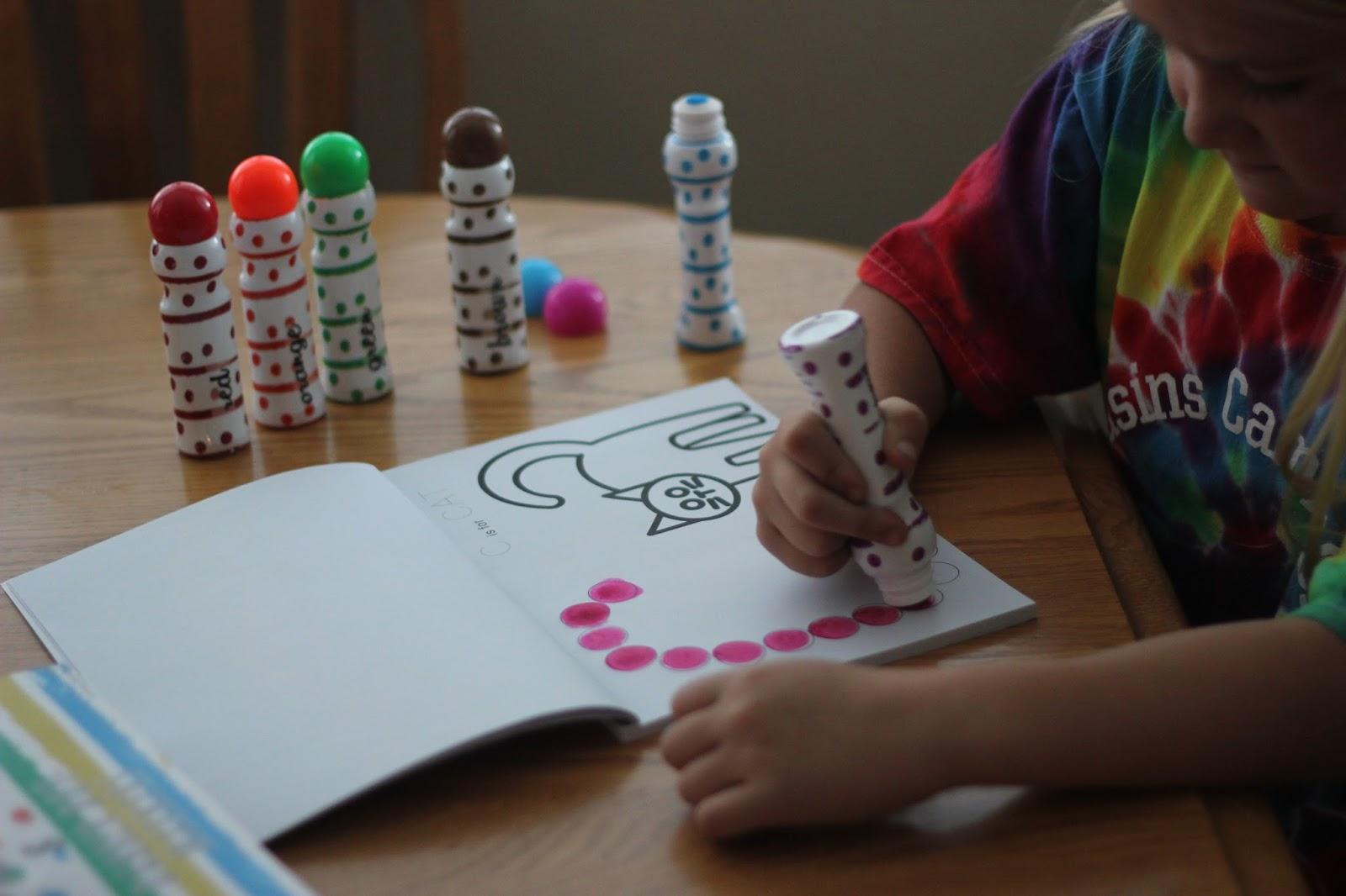 toddler approved 4 easy dabber dot marker learning activity