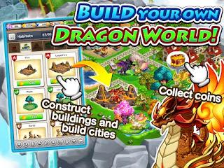 صور من لعبة Dragon x Dragon -City Sim Game التنانين للاندوريد