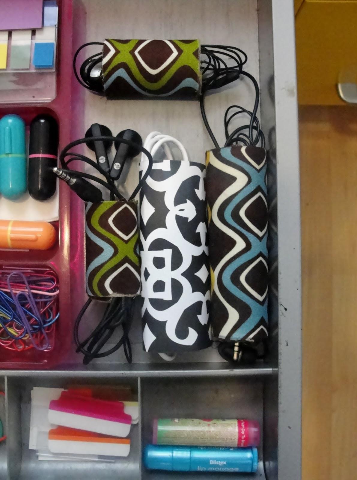 Easy DIY cord organizer