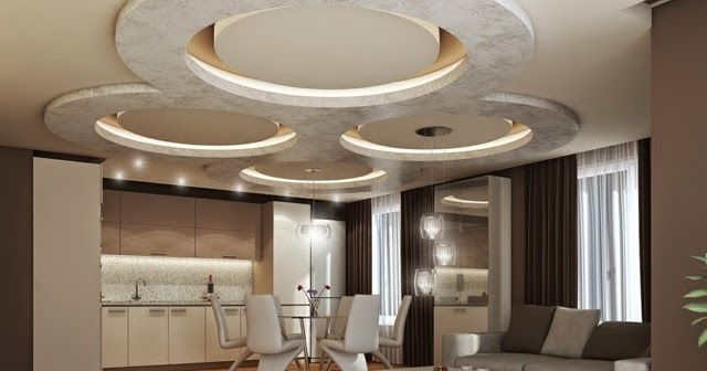Suspended Ceiling Lighting Living Rooms