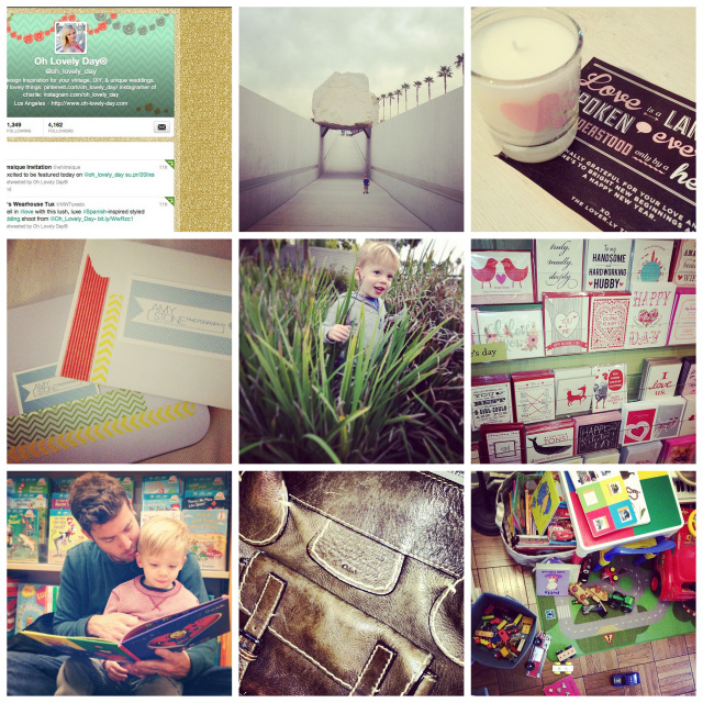 my week in instagrams on oh lovely day