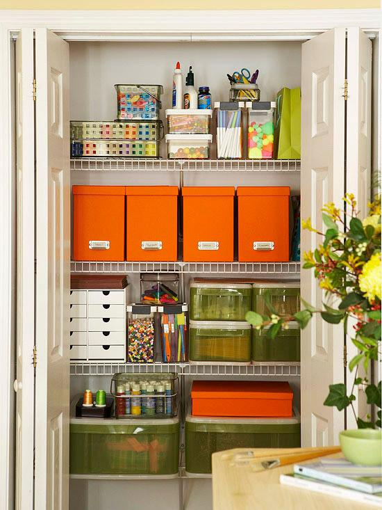 Reorganizing Room: It's Written On The Wall: Craft Room Organizing-Store Over