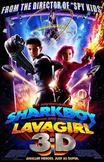 Sinopsis Film The Adventures of Sharkboy and Lavagirl (2005)