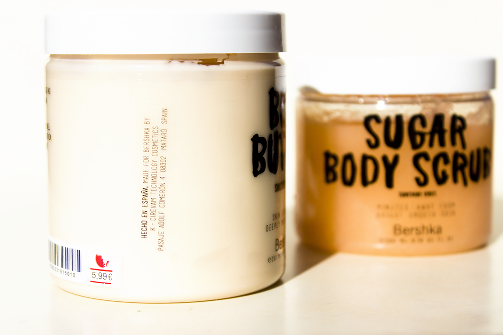 Bershka Sunshine Vibes body scrub and body butter: review and opinion