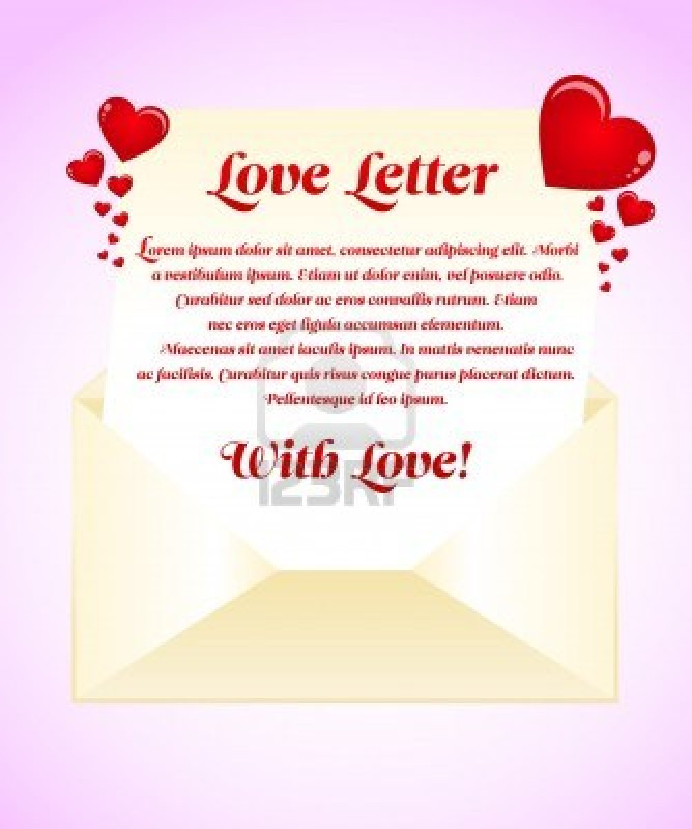 How to write a valentine day love letter image collections letter learn things how to write a perfect letter expocarfo Choice Image