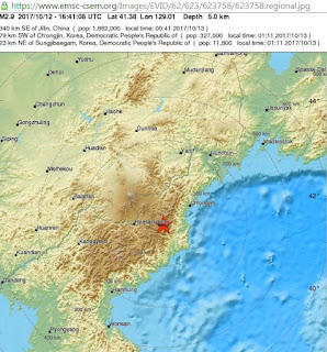 Earthquake Rattles North Korea