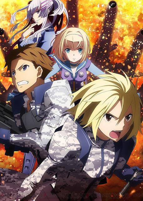 Plakat promujący anime Heavy Object