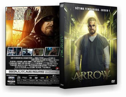 SÉRIE – Arrow 7ª temporada (2018) 4 DISCOS – AUTORADO