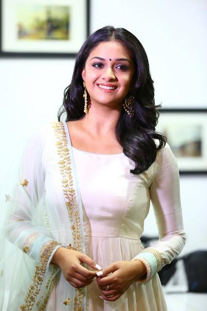 Keerthy Suresh Stills At Thaana Serndha Koottam Interview