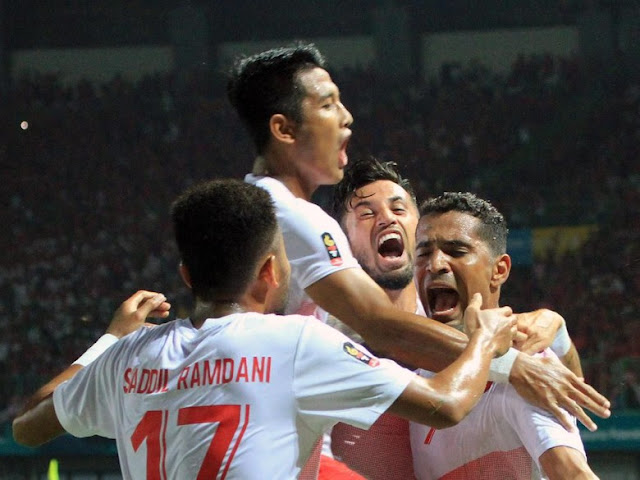 Qatar Tersingkir, Indonesia Lolos ke 16 Besar Sepakbola Asian Games 2018