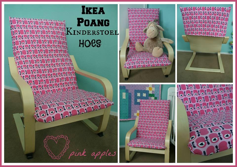 Poang Kinderfauteuil Ikea.Thenyell Hoes Voor De Ikea Poang Kinderstoel