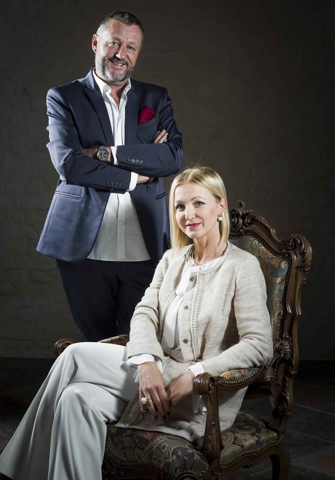 Danilo Ronco e Loredana Sandrone - Titolari Castello dei Solaro