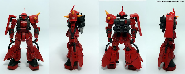 Review RG Johnny Ridden's Zaku II