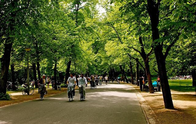 Tour pelo Vondelpark em Amsterdã
