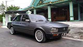 Sedan Jadul Peugeot 505 GR Matic 1982