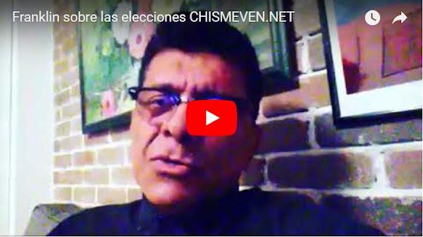 Franklin Virgüez habla sobre las elecciones fraudulentas