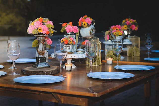 fleurs pour table de mariage