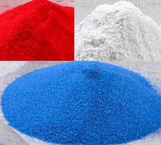 Color used for cement