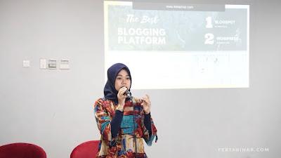 rara febtarina - tips sukses menjadi seorang blogger