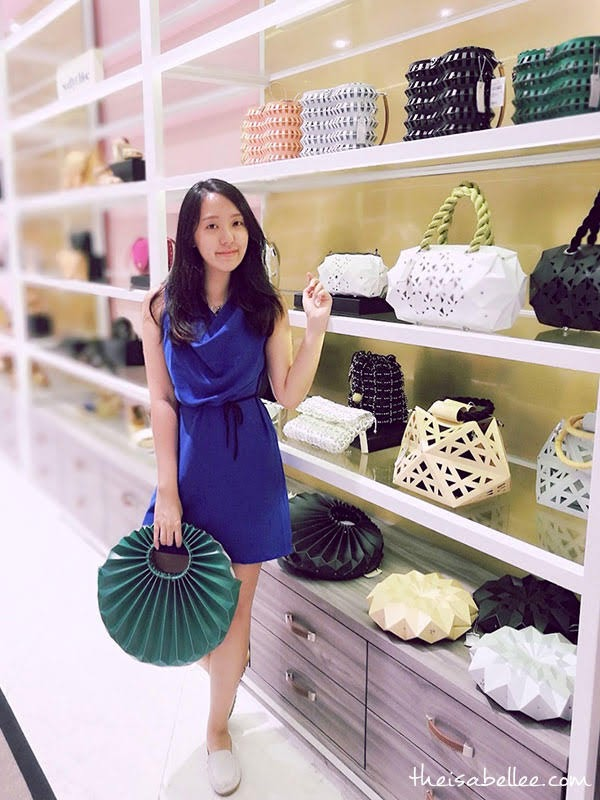 Repleat bag at Robinsons Flagship Store